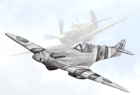 482x329 How To Draw A Fighter Plane