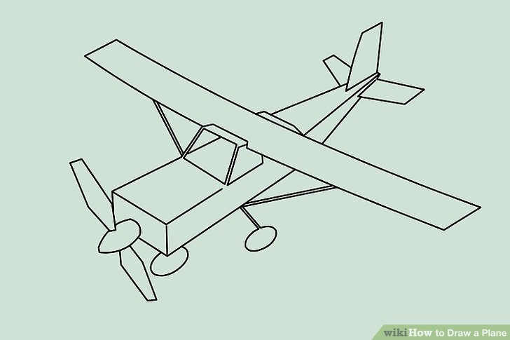 Plane Drawing Easy at GetDrawings   Free download