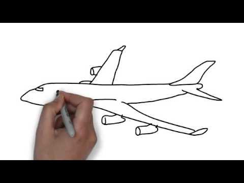 480x360 How To Draw Plane