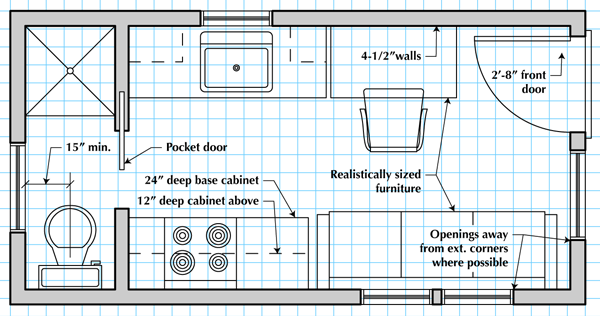 600x316 How To Draw A Tiny House Floor Plan Tiny Houses, House