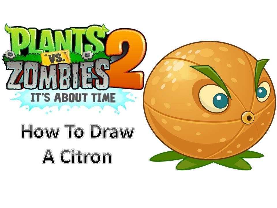 960x720 How To Draw A Citron