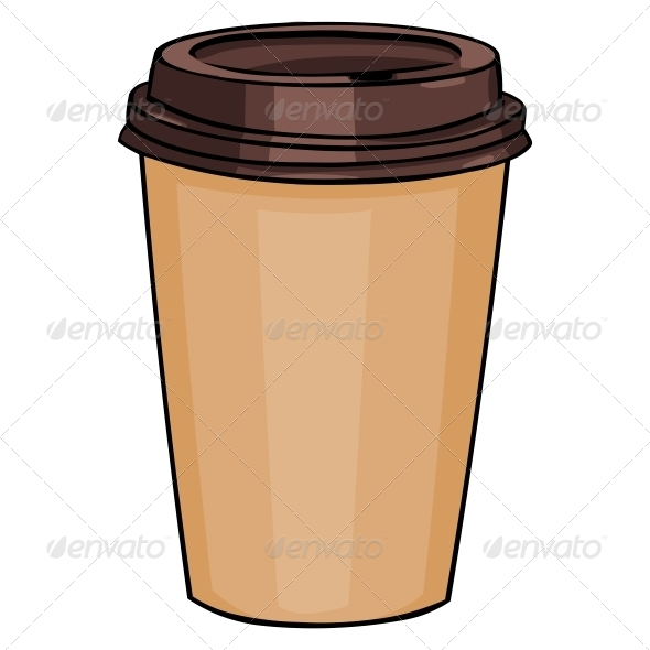 590x590 Plastic Cup With Lid For Hot Drinks By Nikiteev Graphicriver