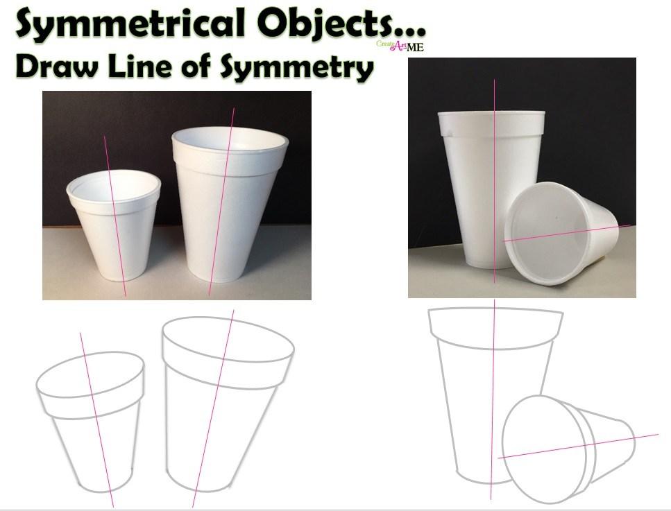 967x737 Styrofoam Cup Charcoal Drawing Still Life