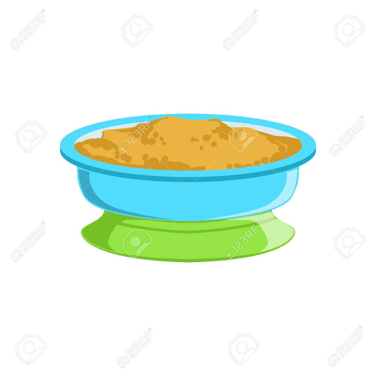 1300x1300 Grain Porridge In Plate Supplemental Baby Food Products Allowed