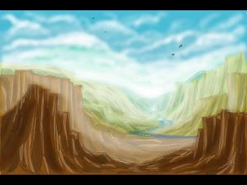 480x360 How To Draw A Valley