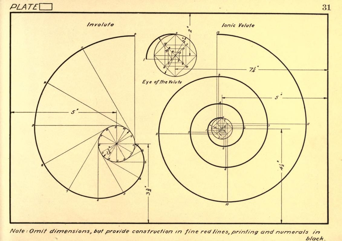 1131x799 Geometrical Drawing, A Collection Of Plates For Practical Use