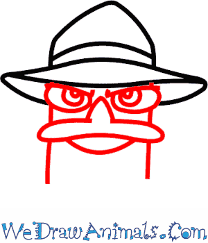 300x350 How To Draw Perry The Platypus