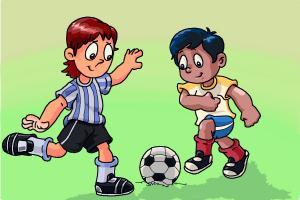 300x200 How To Draw Soccer Players