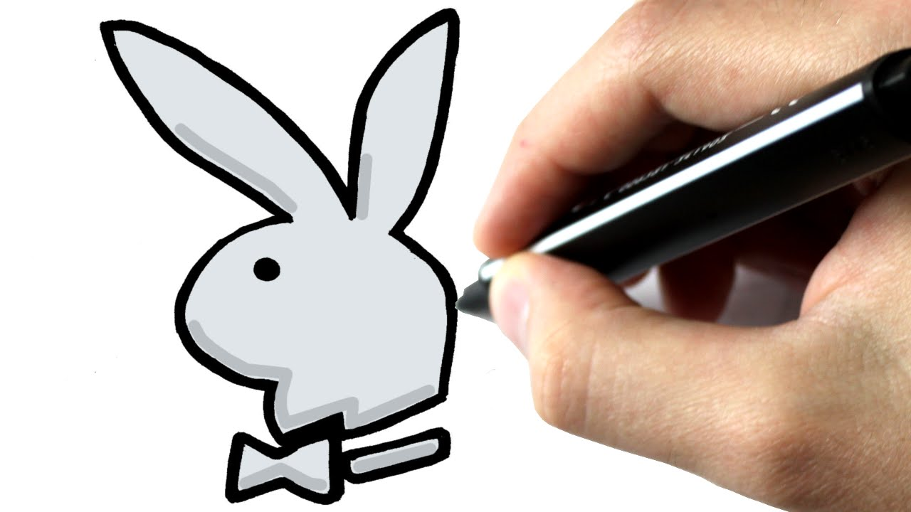 1280x720 Comment Dessiner Le Lapin De Playboy