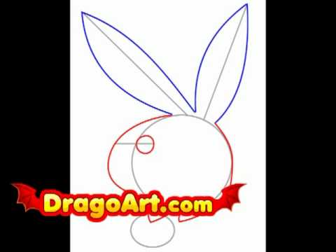480x360 How To Draw Playboy Bunny, Step By Step