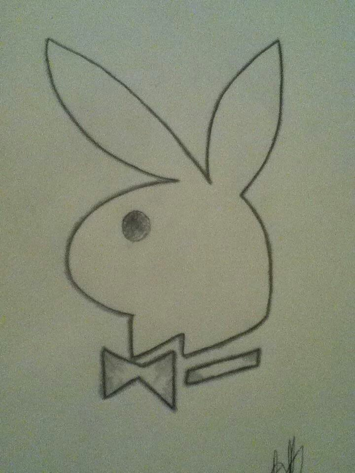 720x960 My Playboy Bunny Drawing My Drawings Playboy Bunny