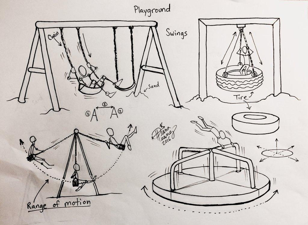 Playground Drawing At Getdrawings