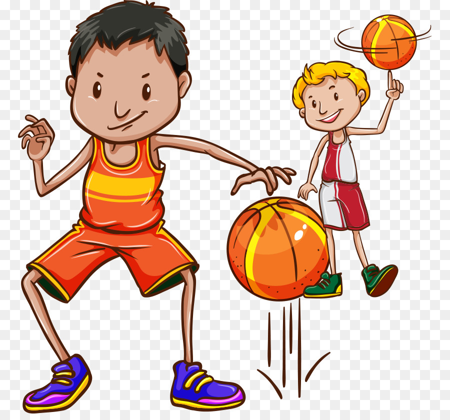 900x840 Basketball Drawing Dribbling Illustration