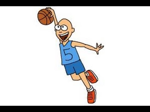 480x360 How To Draw A Basketball Player