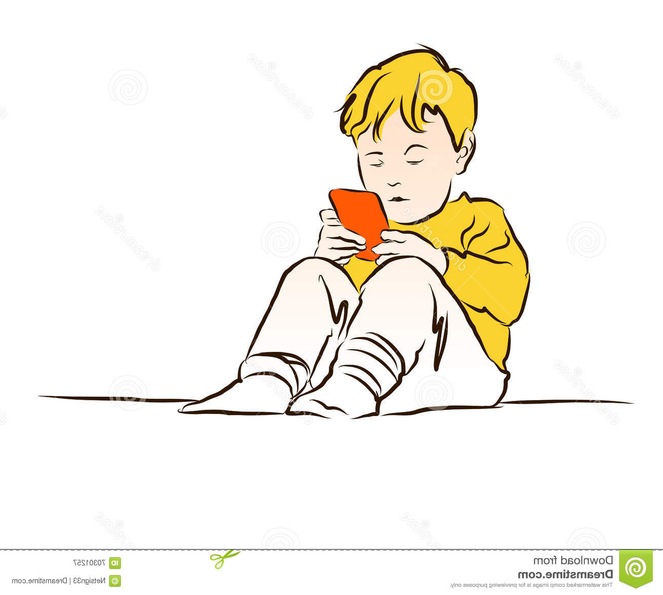 1300x1167 Little Boy Playing Football Drawing A Drawn Picture Of A Boy