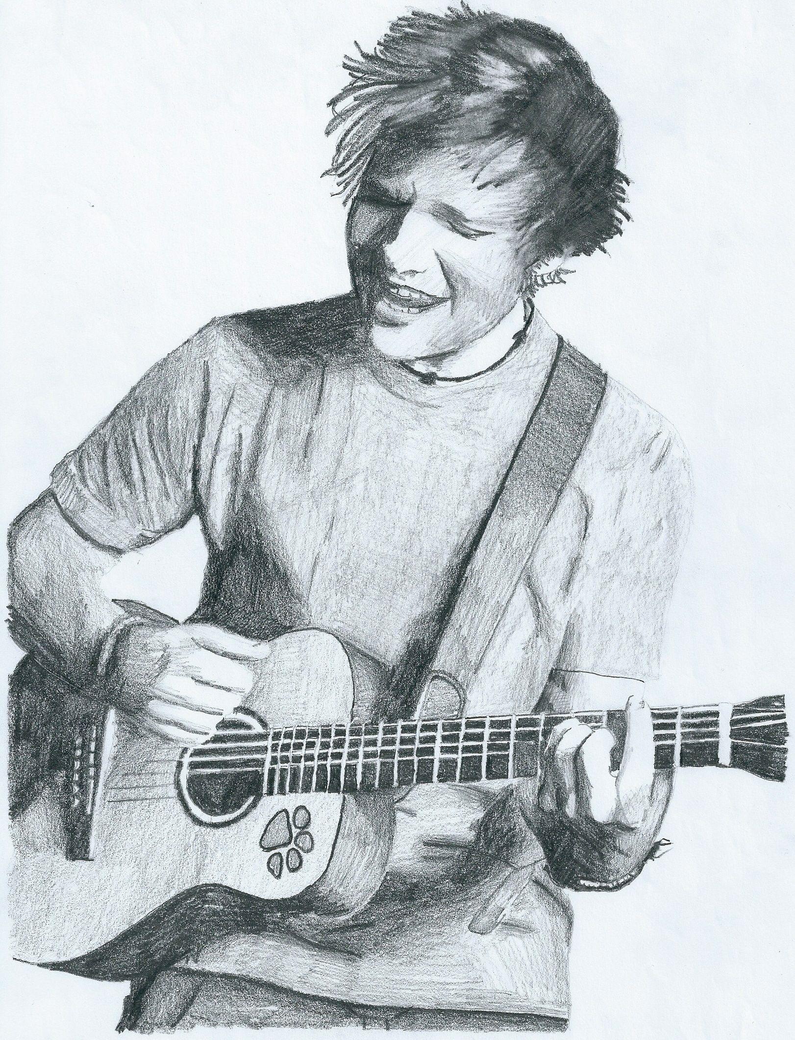 1622x2120 Ed Sheeran Playing The Guitar Random Guitars