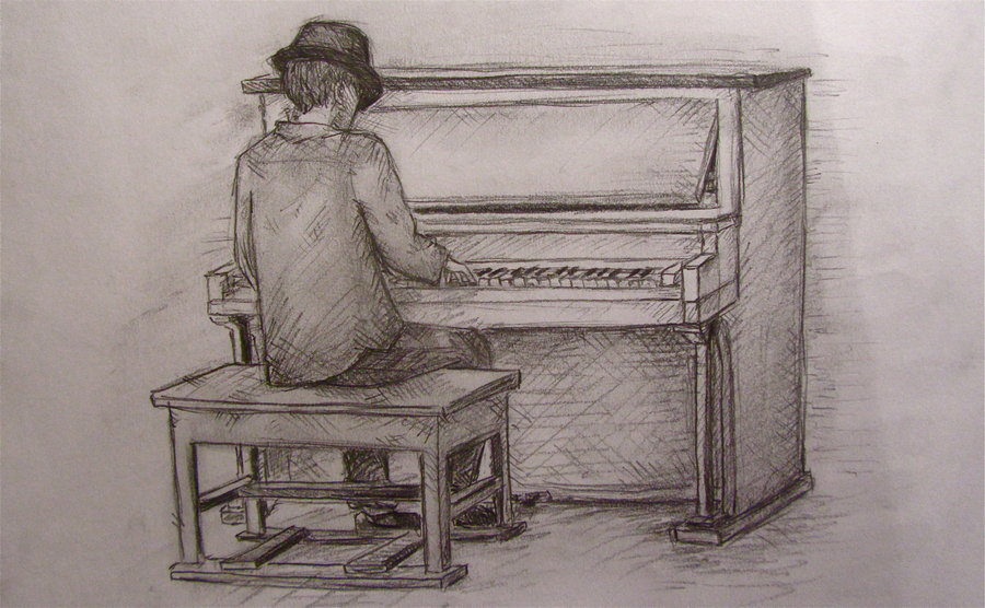 900x556 Piano Man, Play Me A Song By Wimzle