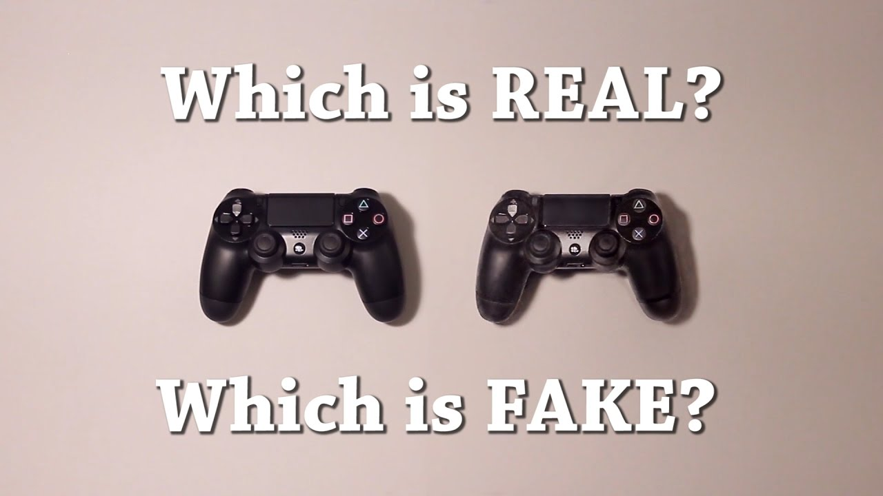1280x720 Fun Test Which Is Real Playstation Controller, Which Is