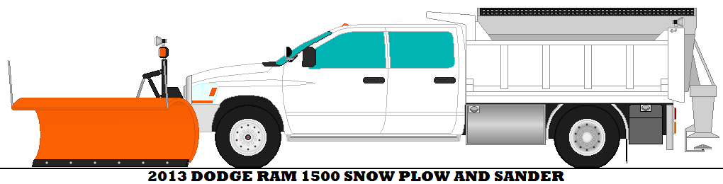 1020x260 2013 Dodge Ram 1500 Snow Plow And Sander By Mcspyder1.