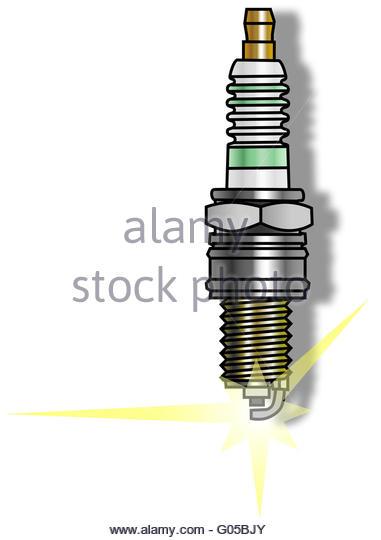 381x540 Spark Plug Drawing Stock Photos Amp Spark Plug Drawing Stock Images
