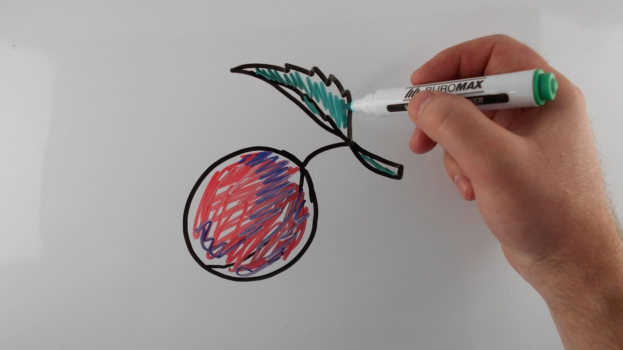 1280x720 How To Draw A Plum