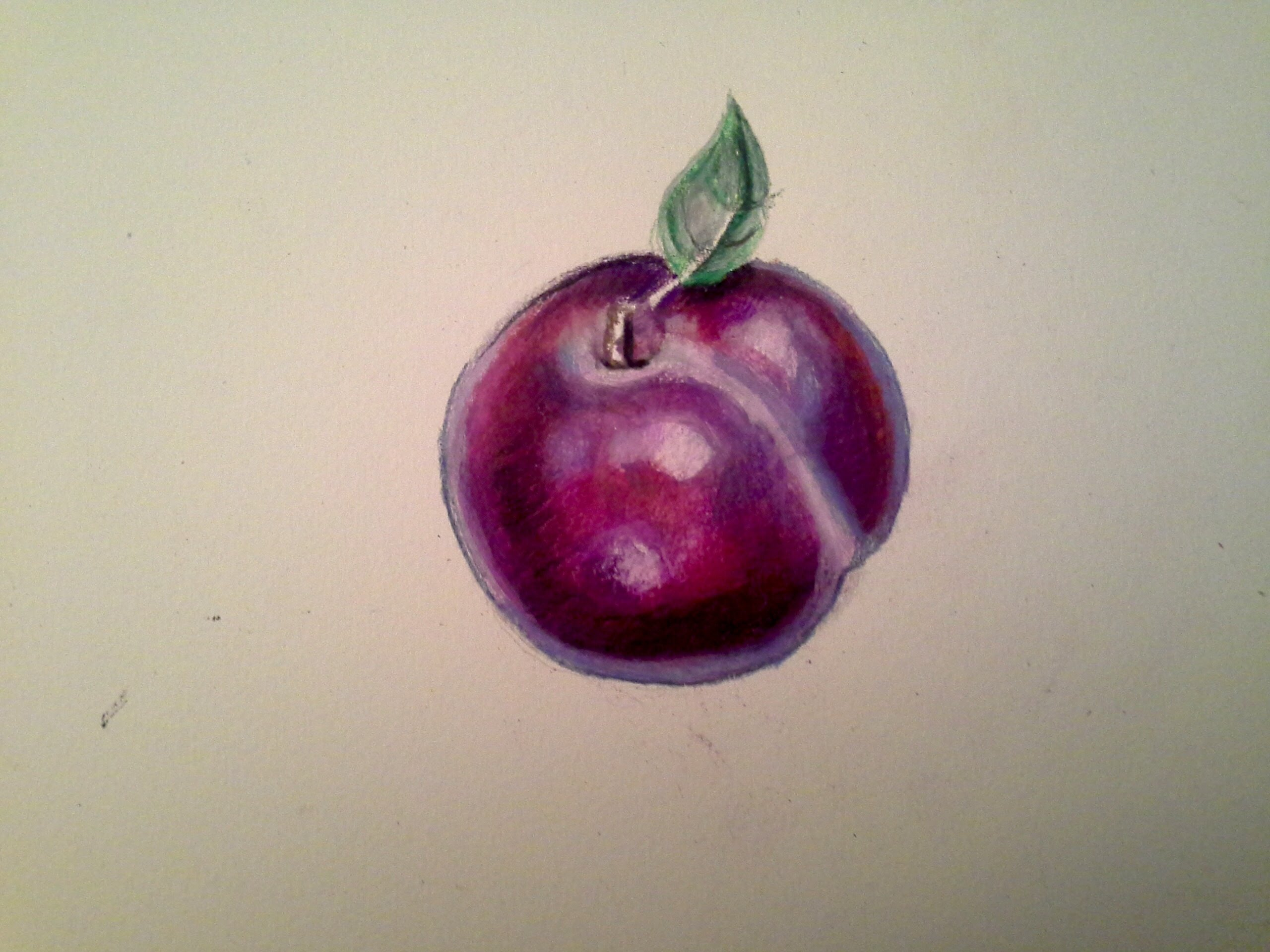 2560x1920 Youdraw Plum W Watercolor Pencils Amp Prismacolor Color Pencils