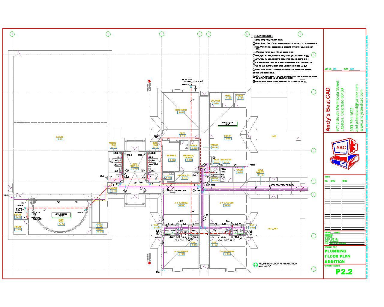 1280x1024 Plumbing Drafting Samples