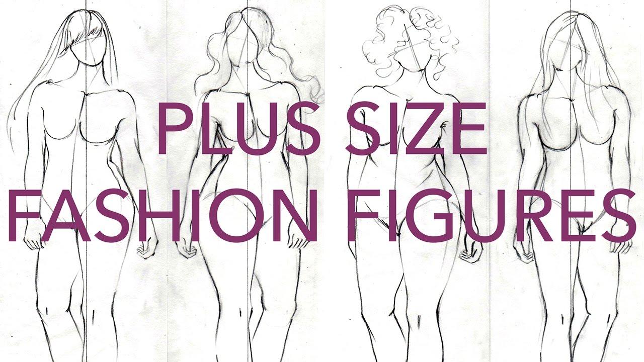 1280x720 How To Draw Plus Size Fashion Figures