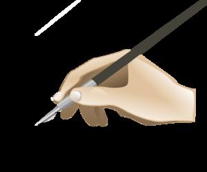 299x249 Drawing Hand Clip Art