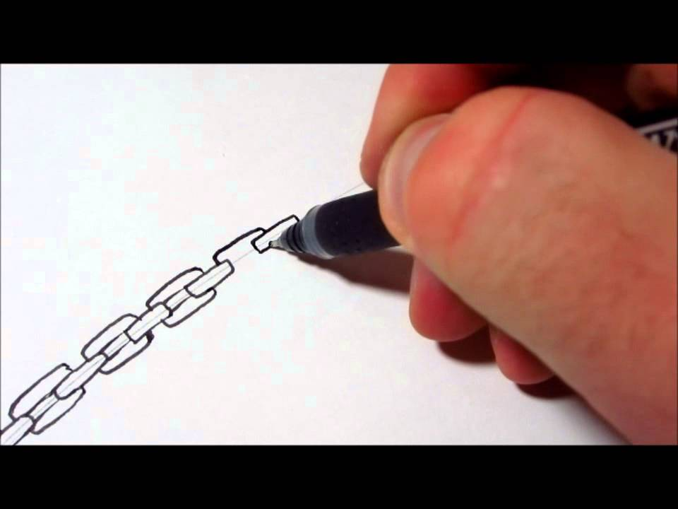 960x720 How To Draw Chains