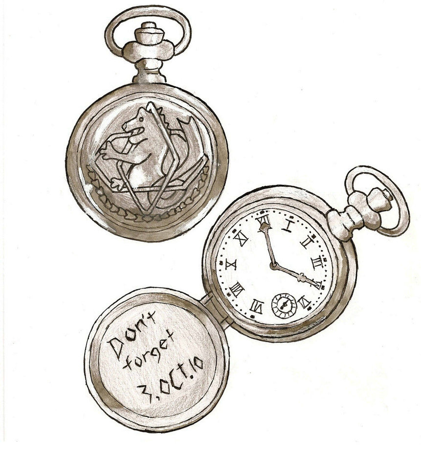 861x928 Fma Pocket Watch By Afrocairo