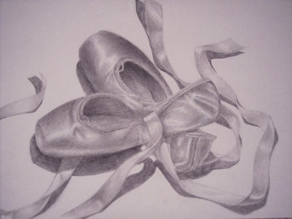 943x707 Ballet Pointe Shoes By Lomelindi88