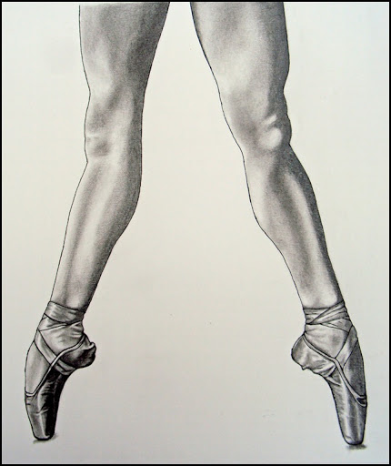 430x512 Draw Doodle And Decorate Dancing In Pointe Shoes