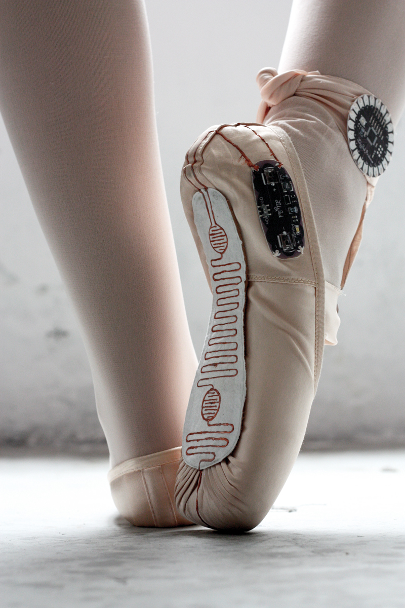 800x1200 Making Art With Smart Ballet Shoes