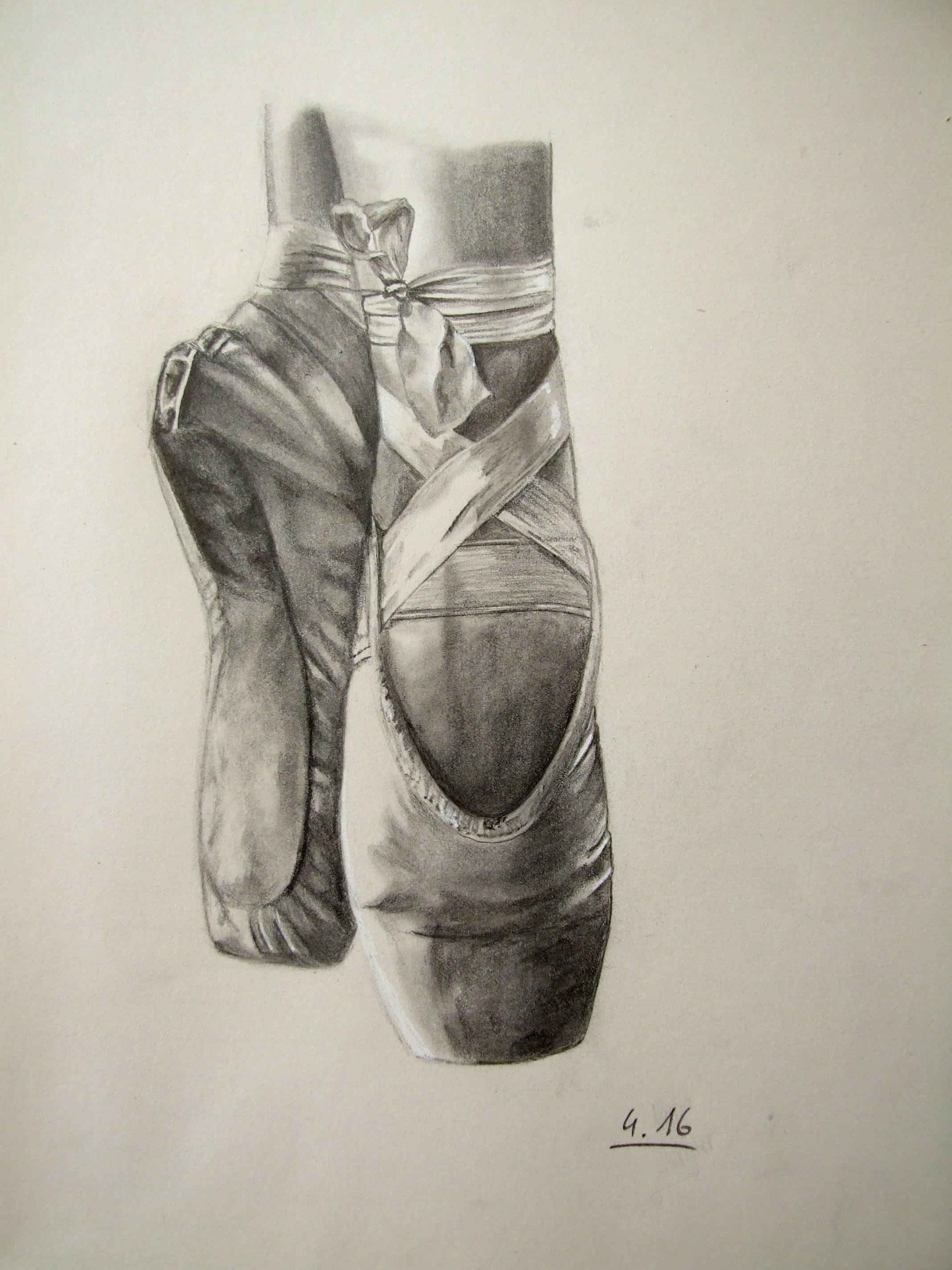 2136x2848 Speed Drawing Pointe Shoes