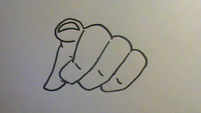640x360 How To Draw A Finger Pointing