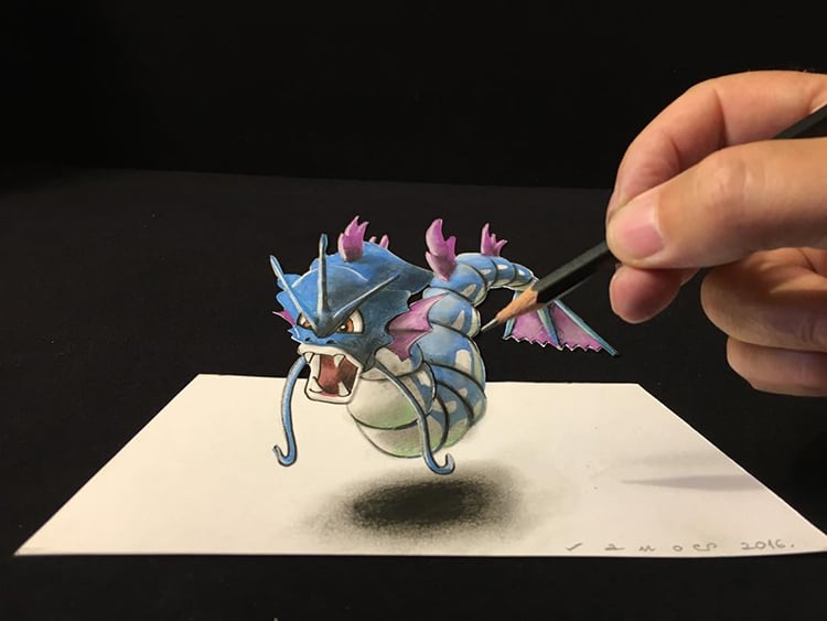 750x563 Artist Creates 3d Drawings Inspired By Anamorphic Art