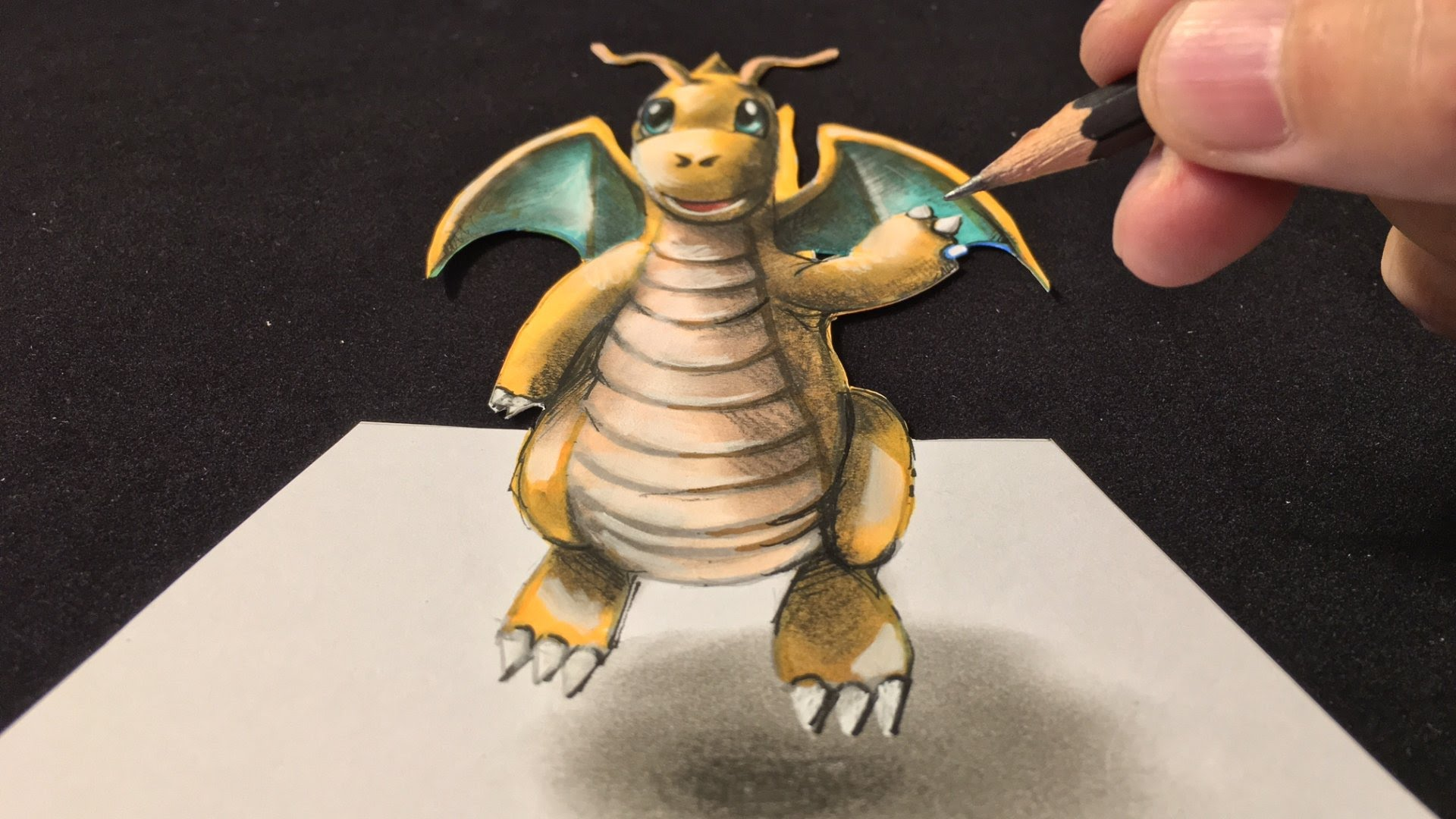 Pokemon Ausmalbilder Dragoran : Pokemon 3d Drawing At Getdrawings Com Free For Personal Use