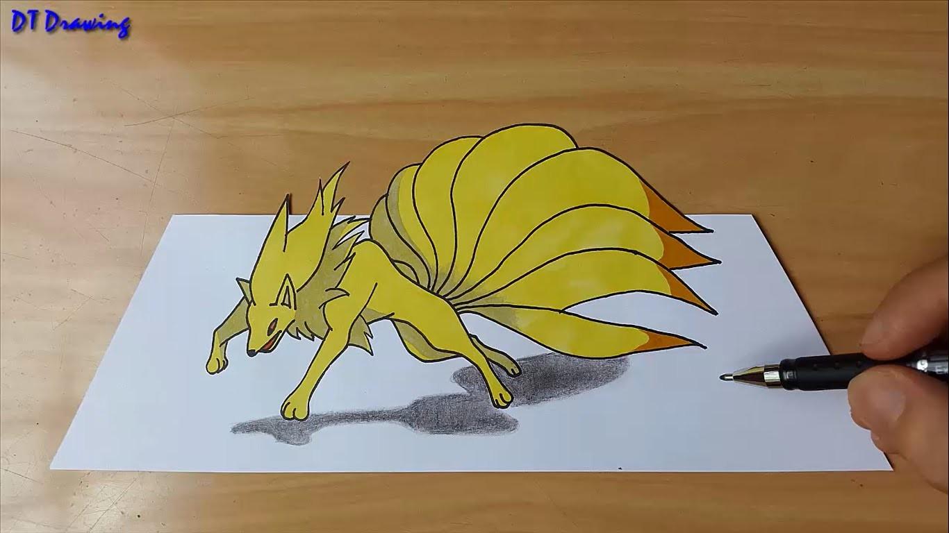 1366x768 Pokemon 3d