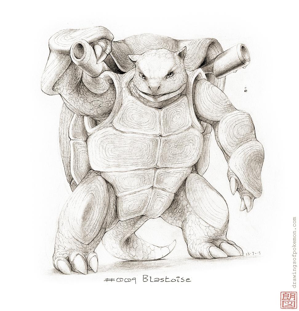 972x1012 009 Blastoise Drawings Of Pokemon Tattoos