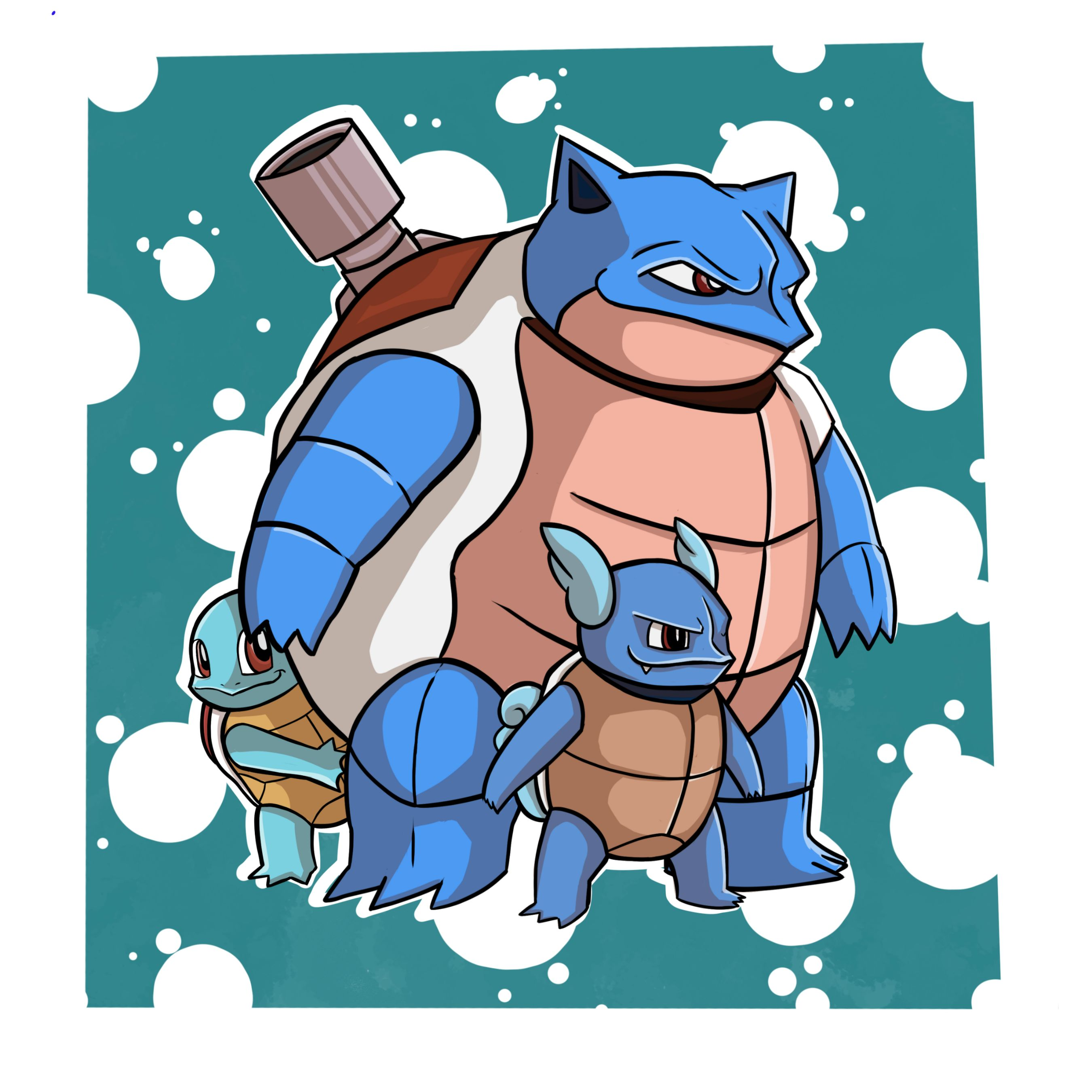 Pokemon Blastoise Drawing At Getdrawings Com Free For Personal Use