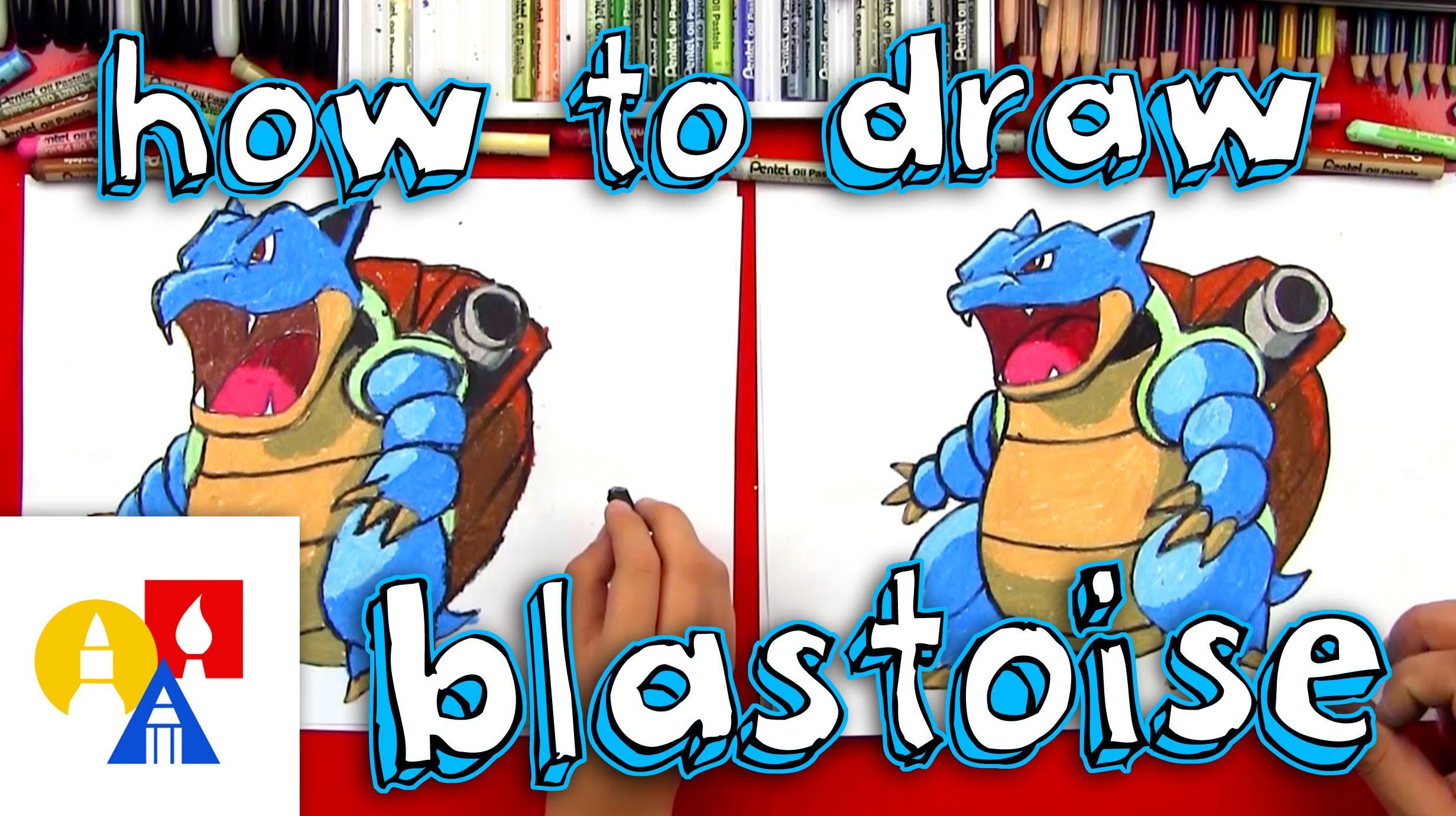 2463x1381 How To Draw Blastoise From Pokemon