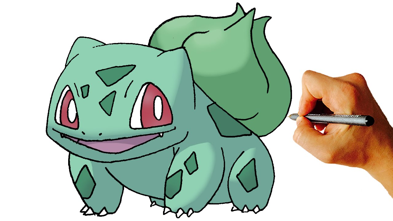1280x720 How To Draw Bulbasaur Pokemon Step By Step Art Lesson