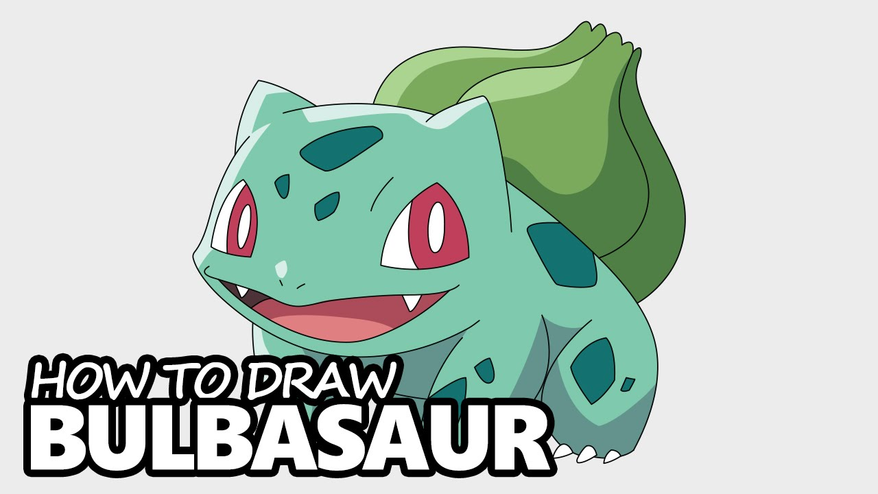 1280x720 How To Draw Bulbasaur From Pokemon