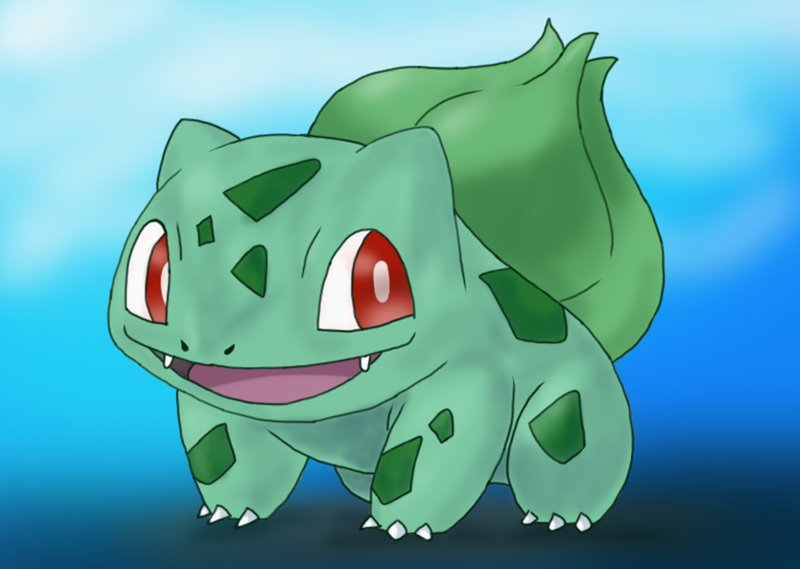 800x569 Learn How To Draw Bulbasaur From Pokemon (Pokemon) Step By Step
