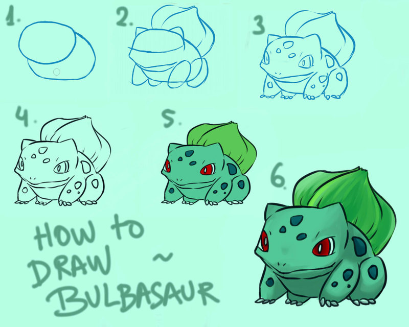 800x640 Tutorial How To Draw Bulbasaur By Nouka