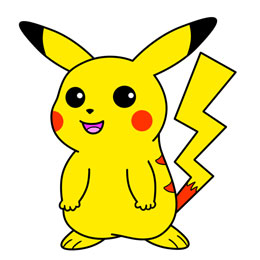 260x260 How To Draw Pokemon Cartoon Characters
