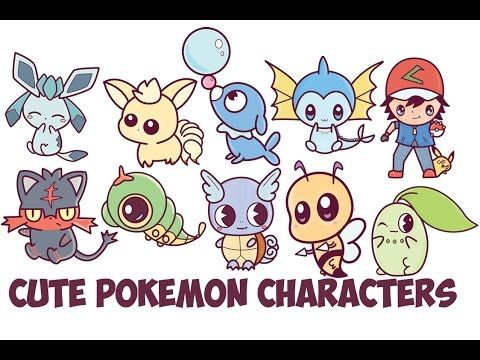 480x360 Learn How to Draw Cute Chibi Kawaii Pokemon Characters with Easy