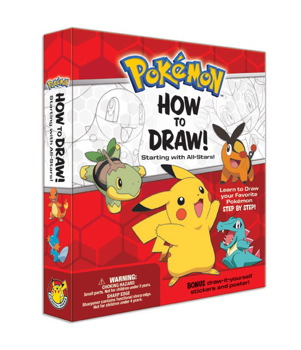 301x350 Pokemon How To Draw Kit Starting With All Stars! Book By
