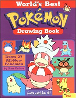 260x335 World's Best Pokemon Drawing Book Ron Zalme 9780816769728